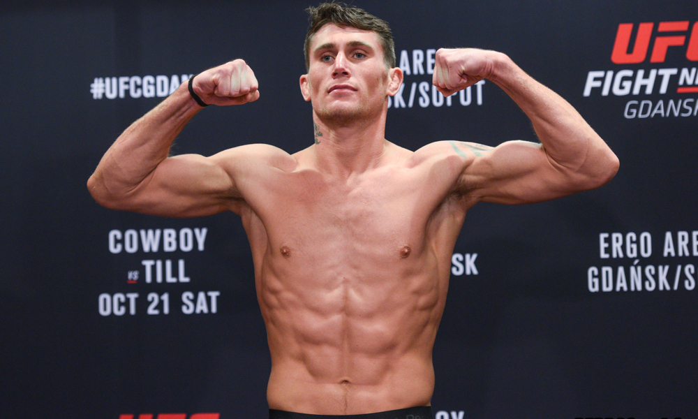 Darren Till gives an update about a move to middleweight - Darren Till