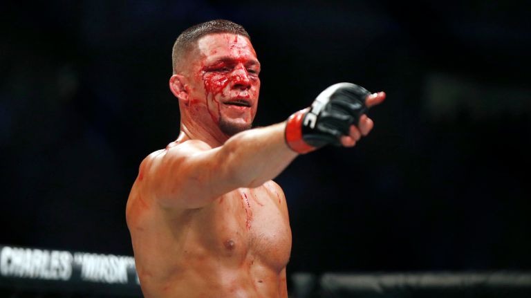Nate Diaz says Conor McGregor is a 'spoiled little b**ch' - Diaz