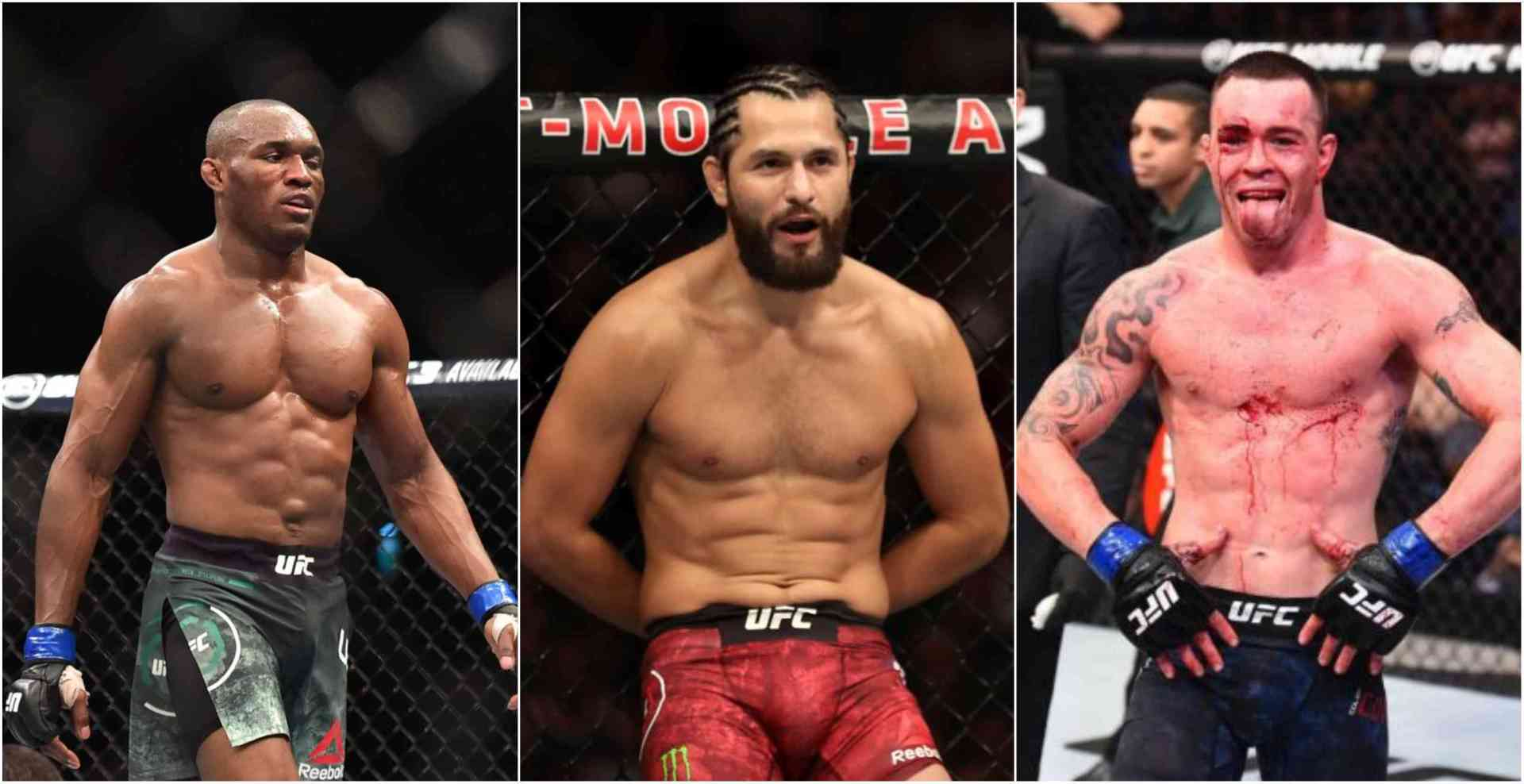 Jorge Masvidal in contention for title shot after Colby Covington talks 'hit a snag' - Covington