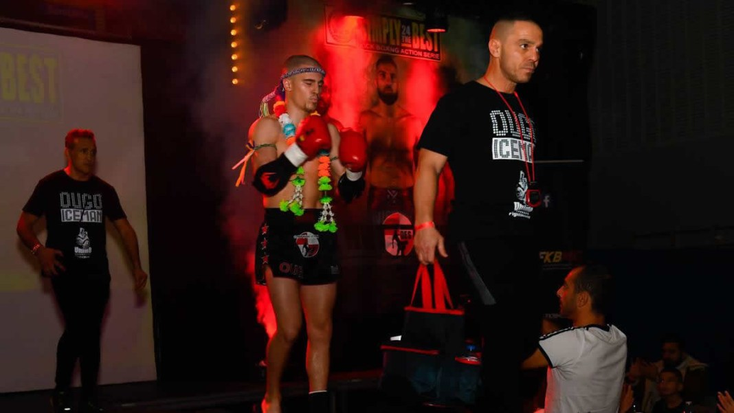 Ougo Huet aims two WKN titles in Kickboxing & Muay Thai -