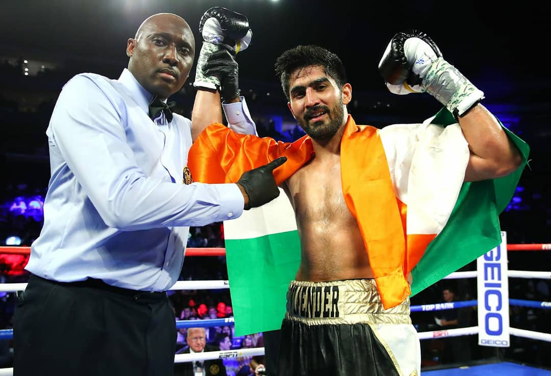 Vijender Singh to fight on November 22 in Dubai - Vijender