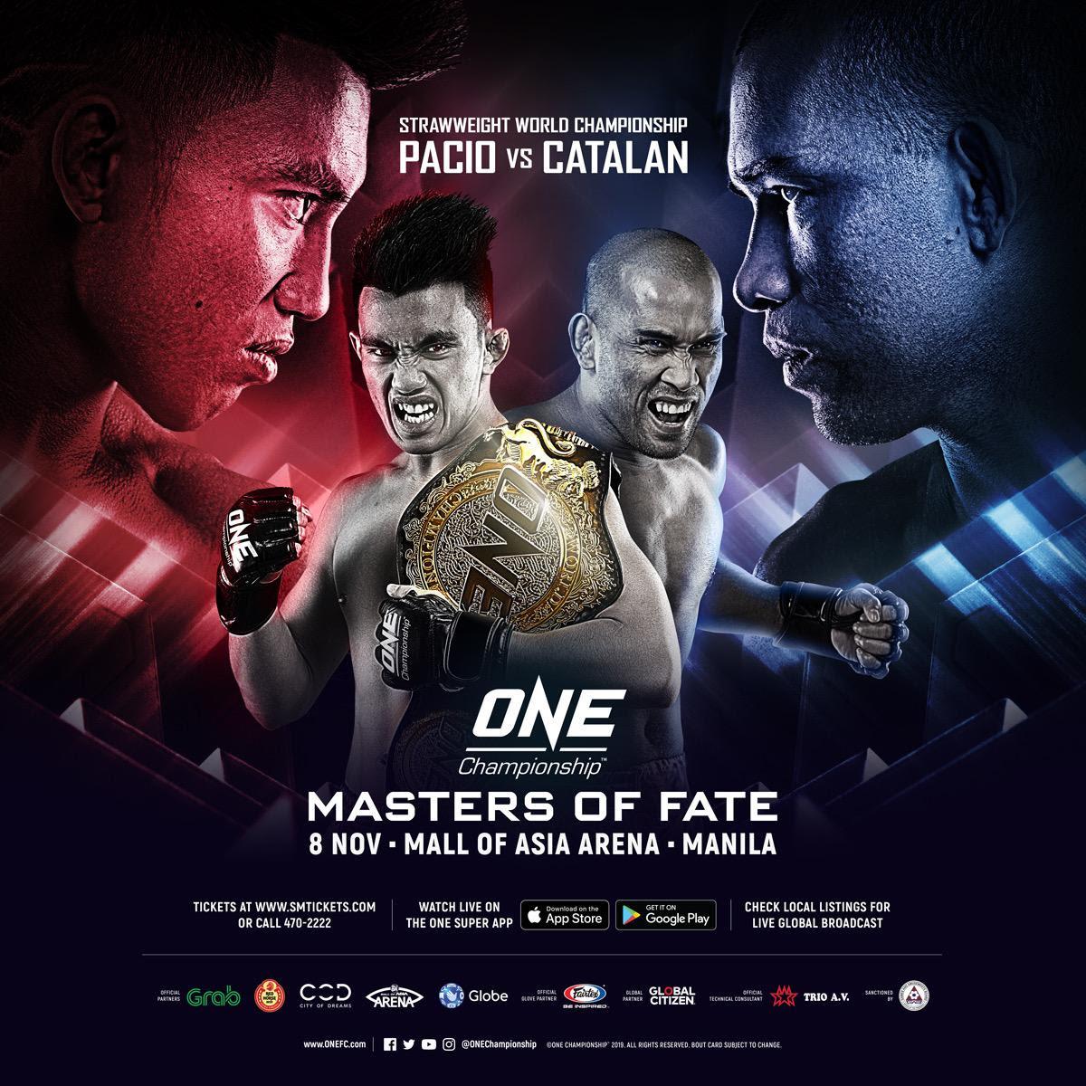 JOSHUA PACIO TO DEFEND ONE STRAWWEIGHT WORLD CHAMPIONSHIP AGAINST RENE CATALAN - ONE Championship