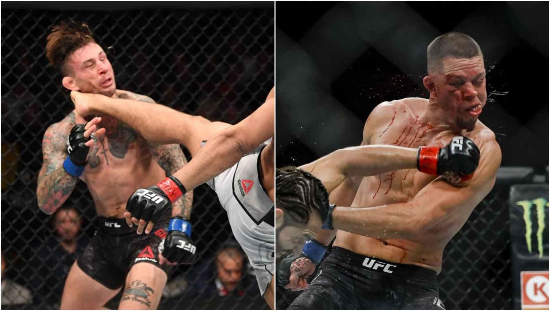 Nate Diaz, Gregor Gillespie facing 90 days suspension after UFC 244 fight - Diaz
