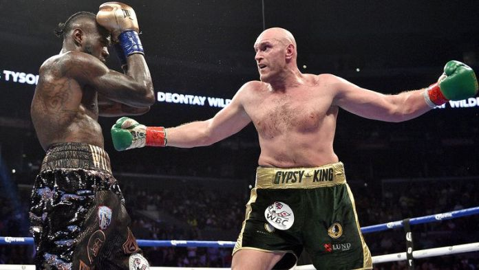 Tyson Fury says he could flatten Brock Lesnar in 30 seconds - Fury
