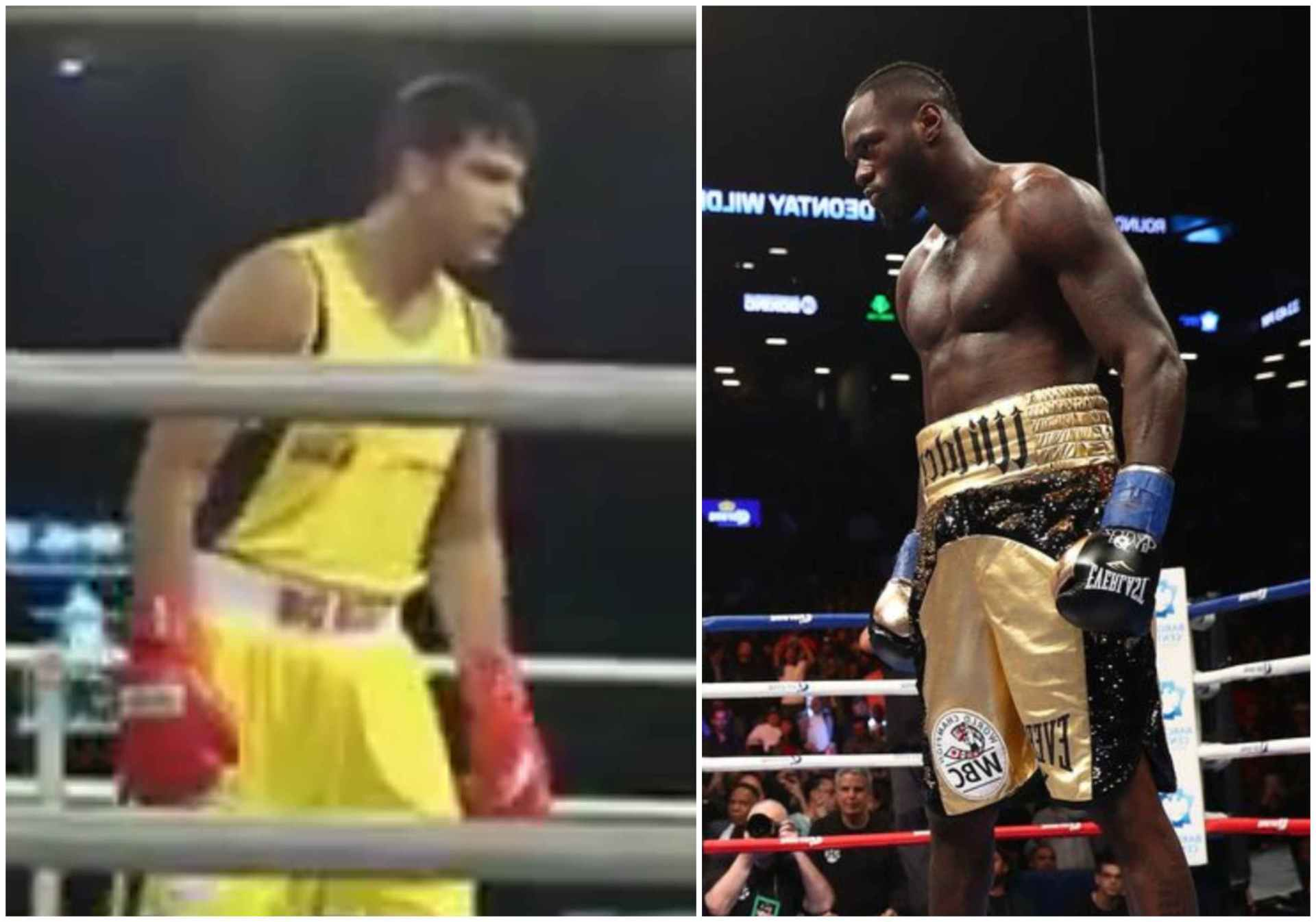 VIDEO: Indian star Naman Tanwar channels his inner Deontay Wilder in Big Bout League - Naman