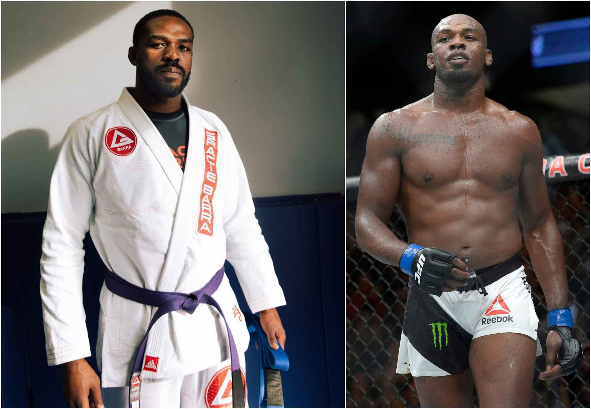 Jon Jones 'honoured' to earn purple belt in Brazilian Jiu-Jitsu - Jones