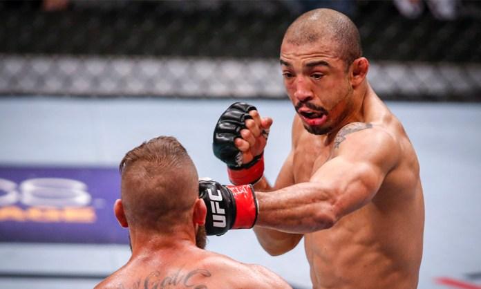Jose Aldo boxing
