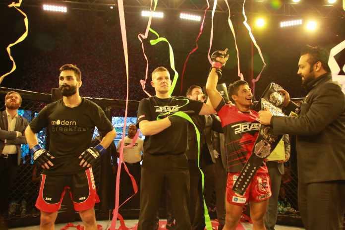 Stephen Loman honored by his hometown after another title defense for BRAVE CF - BRAVE CF 30