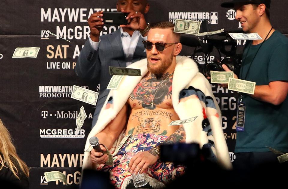 UFC 246 Salaries: Conor McGregor takes home ₹21 Crore in guaranteed purse - Conor