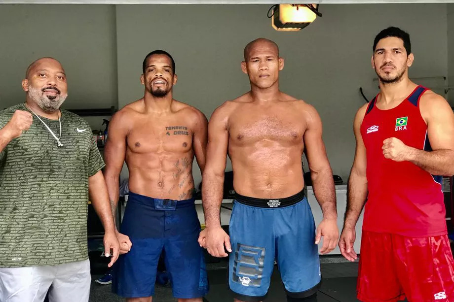 UFC News: Jacare forced to train in garage ahead of UFC 249 due to coronavirus shutdown - Jacare