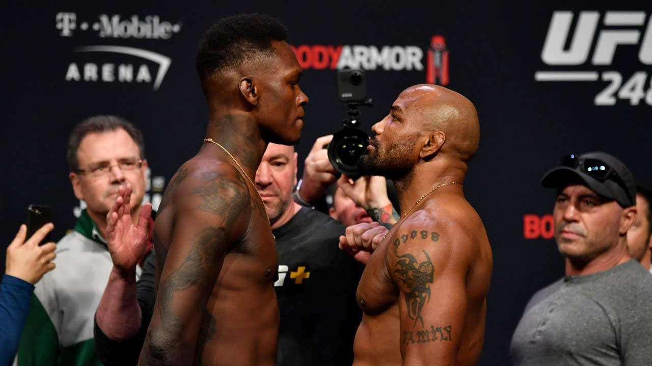 Who wins this middleweight title fight at UFC 248? -