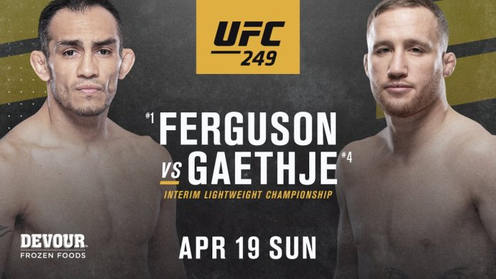 UFC 249 gets main event Ferguson vs Gaethje plus 11 thrilling bouts -