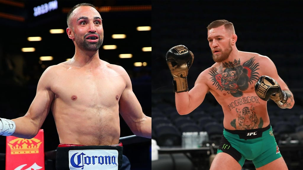 Paulie Malignaggi claims he KO's Conor McGregor in the boxing ring - but this former UFC champion disagrees - McGregor