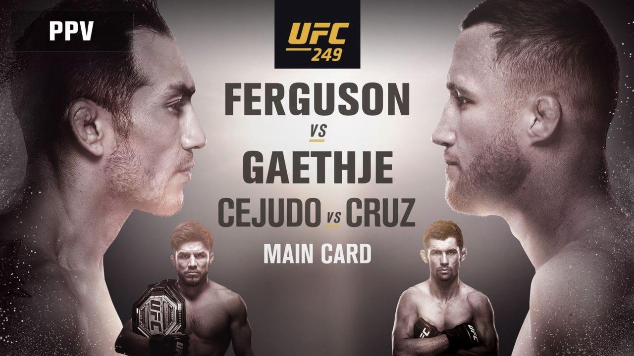 UFC 249: Ferguson vs Gaethje fight card, live streaming, results, highlights - UFC 249