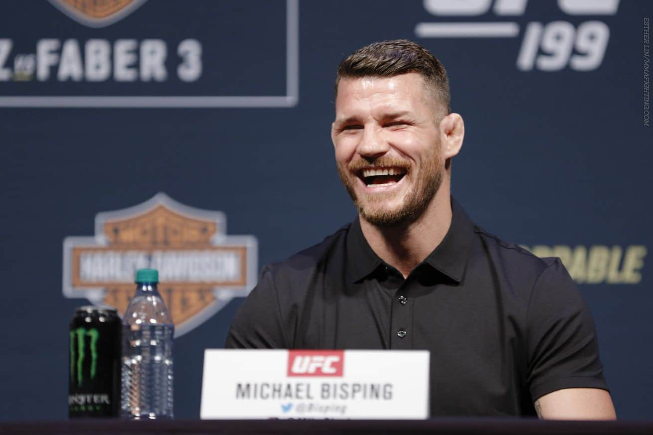 UFC fighter Michael Bisping
