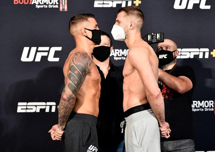 UFC Fight Night: Dan Hooker vs Dustin Poirier