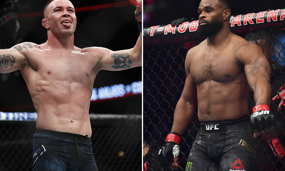 Colby Covington not taking Tyron Woodley match lightly - Covington