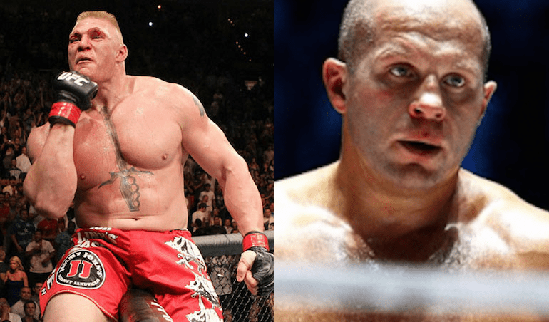 Bellator reaches out to Brock Lesnar for a possible Fedor Emelianenko fight - Bellator