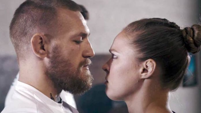 Conor McGregor and Ronda Rousey