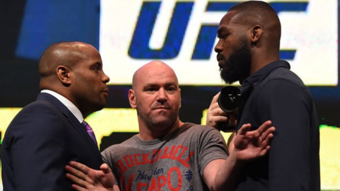 "Daniel Cormier Jon Jones ""title ="" Daniel Cormier Jon Jones ""/>    <figcaption class="