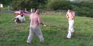 Tranta - Regulile si istoria acestei arte martiale romanesti