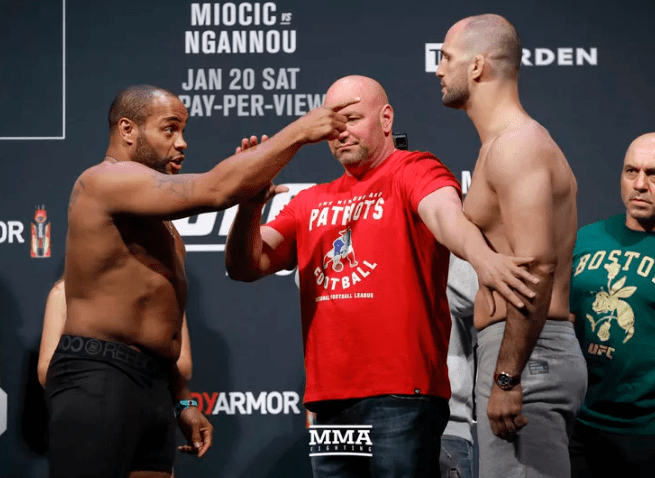 VIDEO. UFC 220-Cântarul oficial: Miocic vs Ngannou și Cormier vs Oezdemir