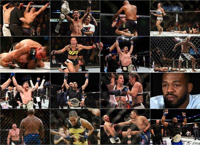 Cele mai importante momente din MMA în anul 2017 (VIDEO)