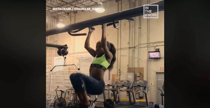 Această gimnastă de 10 ani are o condiție fizică mult peste ce-ți poți imagina! (VIDEO)