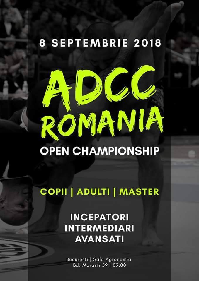 ADCC ROMANIA Open Championship 2018 - Brackets și Rezultate