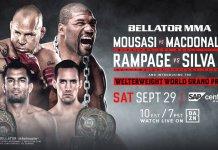 Bellator 206: Urmează o gală memorabilă! Gegard Mousasi vs Rory MacDonald și Rampage Jackson vs Wanderlei Silva