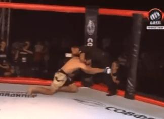 VIDEO. Arbitru nevoit să-și arate tehnica de apărare în octogon + Fazele săptămânii din MMA