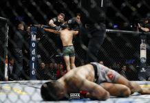 VIDEO. La gala aniversară de 25 de ani de UFC, a avut loc cel mai neașteptat KO! Vezi cele mai spectaculoase faze de la UFC Denver