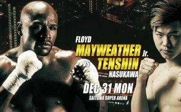 OFICIAL: Floyd Mayweather va luptă împotriva lui Tenshin Nasukawa în Tokyo, la RIZIN 14