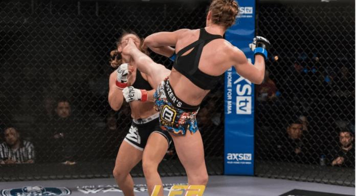 VIDEO. Este aceasta lovitura de picior a anului? Vezi fazele săptămânii din MMA și Kickbox!