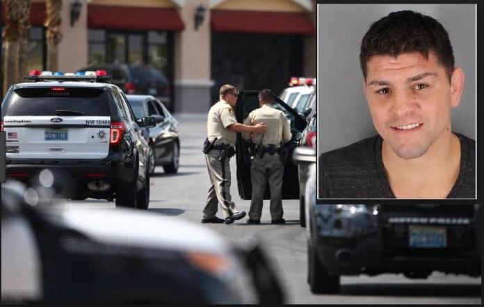 VIDEO cu Nick Diaz arestat de poliția din Las Vegas