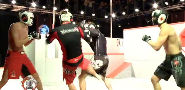 Parkour MMA este cel mai nou și cel mai periculos sport din Rusia! (VIDEO)