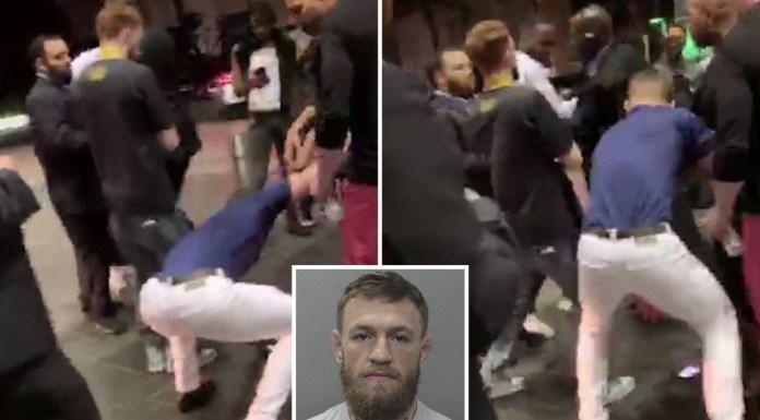 VIDEO. A apărut filmarea cu Conor McGregor când distruge mobilul unui fan