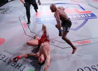 VIDEO. Vezi seria de KO-uri brutale reușite în prima rundă la PFL 4!
