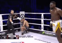 Vezi ce știe să facă Cedric Doumbe, campionul GLORY la kickbox care vrea să între în UFC!
