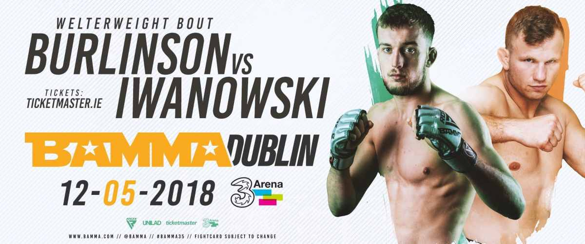New Bouts Added To The BAMMA 34 Fightcard