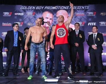 Chuck Liddell Vs. Tito Ortiz 3 Weigh In Quotes, Photos