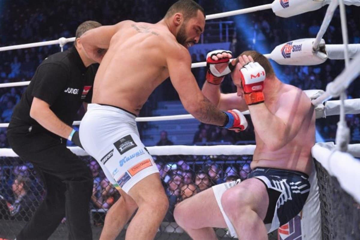 M-1 Challenge Middleweight Champion Bruno Silva signs with UFC