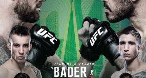 UFC FN 100 Sao Paulo poster
