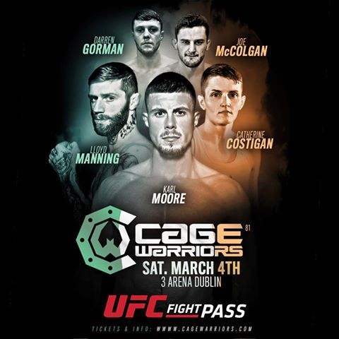 Cage Warriors 81, CW 81