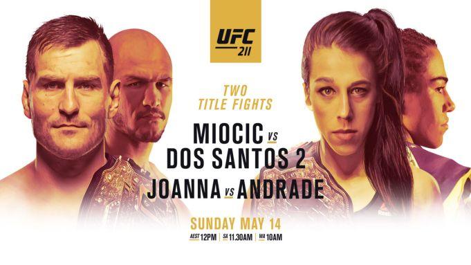 UFC 211 live, Jedrzejczyk