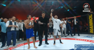 Ali Bagautinov Pedro Nobre Fight Nights Global 69
