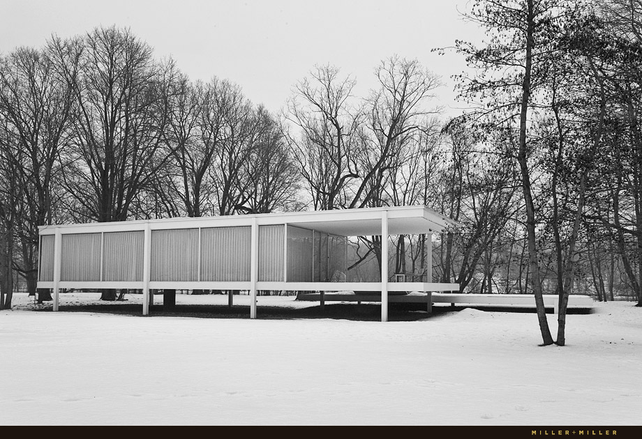 Farnsworth House  Architect Ludwig Mies Van Der Rohe
