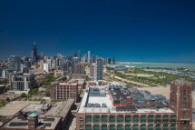South Loop Chicago Skyline - Architectural
