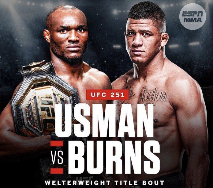 watch Usman vs. Burns UFC 251 on Kodi for free