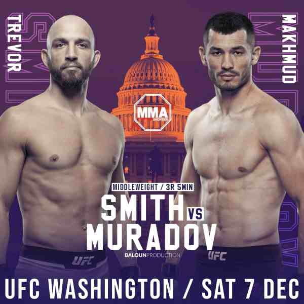 Makhmud Muradov vs Trevor Smith